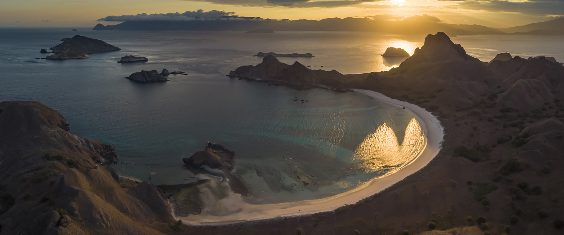 Beautiful Padar Sunset II