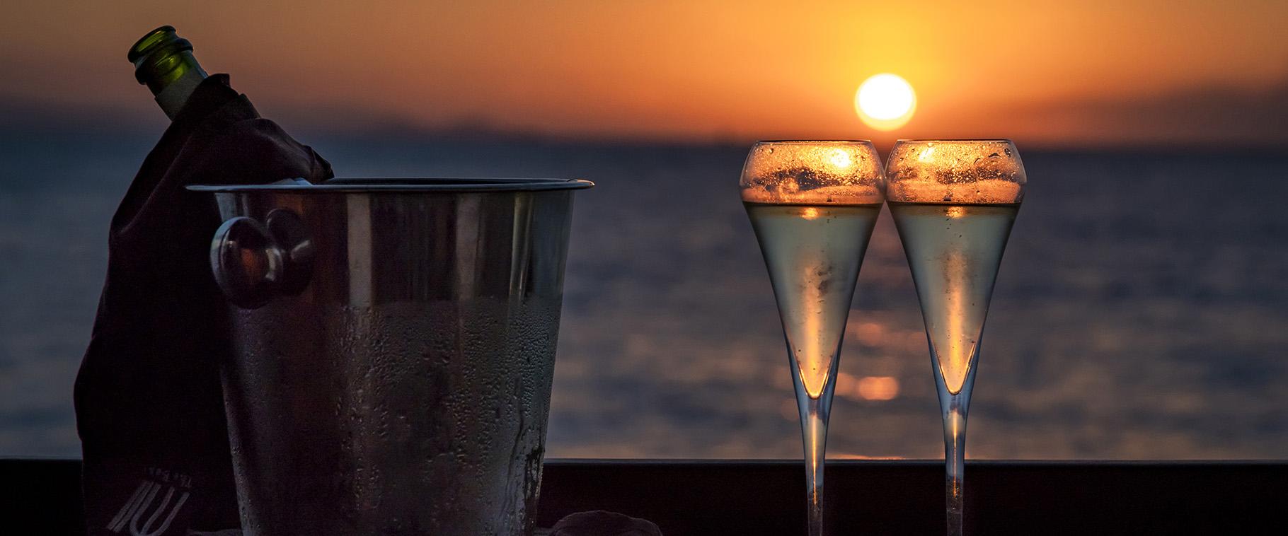 Champagne Sunset II